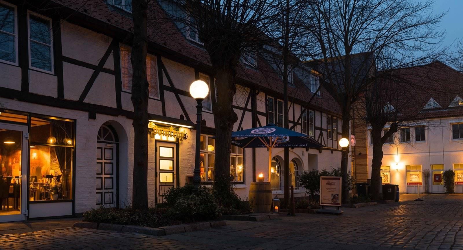 restaurant eckernförde 24340 restaurant essen mittagstisch steak steakhaus domkrug hafen tipp steak eingang